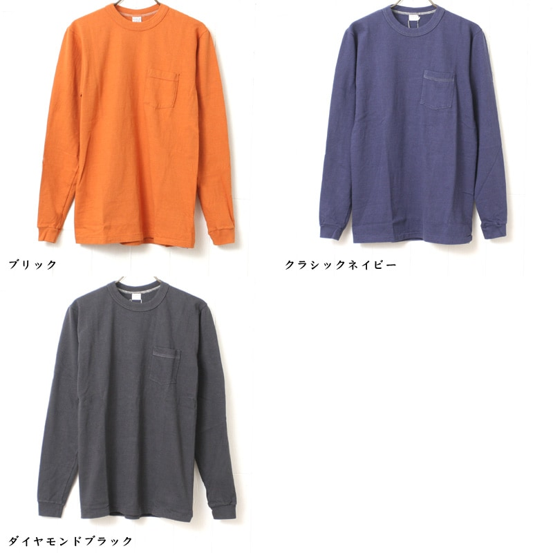 ENTRY SG ポケット付き長袖Tシャツ [PUEBLO]