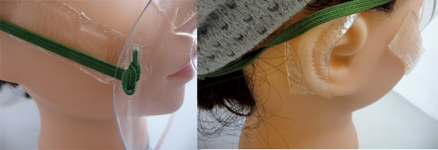 シカケアを貼ってマスクをした画像2