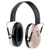 イヤーマフ H6F (遮音値21dB) 折畳式ヘッドバンド PELTOR製 【防音/遮音】