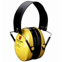 イヤーマフ H510F (遮音値21dB) 折畳式ヘッドバンド PELTOR製 【防音/遮音】