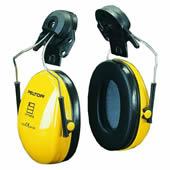 イヤーマフ H510P3E (遮音値21dB) ヘルメット用 PELTOR製 【防音/遮音】