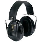 イヤーマフ H515ブルズアイブラック (遮音値21dB) ヘッドバンド PELTOR製 【防音/遮音】