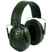 イヤーマフ H515ブルズアイミリタリーグリーン (遮音値21dB) ヘッドバンド PELTOR製 【防音/遮音】