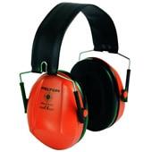 イヤーマフ H515ブルズアイレッド (遮音値21dB) ヘッドバンド PELTOR製 【防音/遮音】
