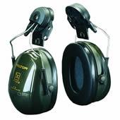 イヤーマフ H520P3E (遮音値23dB) ヘルメット用 PELTOR製 【防音/遮音】