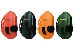 スポーツタックイヤーマフ用 交換カバー(1組) レッド/ブラック/グリーン/オレンジ (PELTOR製) 【防音/遮音】