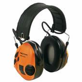 イヤーマフ スポーツタックグリーン/オレンジ (遮音値21dB) ヘッドバンド PELTOR製 【防音/遮音】