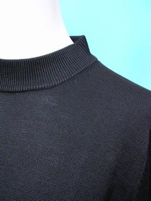シルクウール混ニット長袖