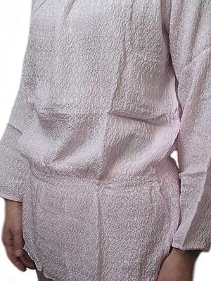 シルクスモッグ風パジャマ