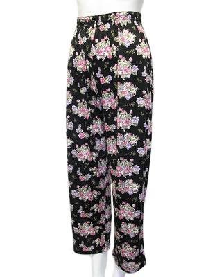 シルクニットパジャマ婦人用パンツ