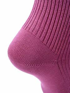 シルクリブ靴下