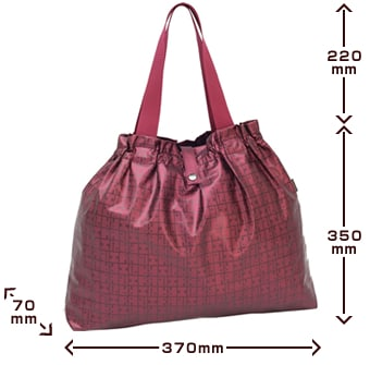 キキ2 ネオラビパック「約20�の荷物にも耐える、エコバッグ」 サイズ