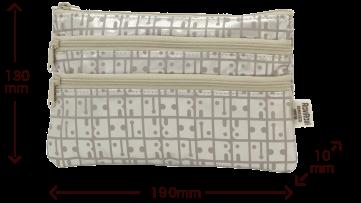 キキ2 2段ポケットポーチ サイズ
