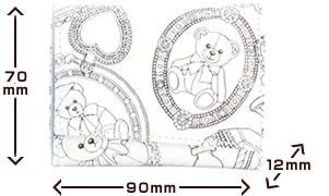 トレゾールモノ ポレット折  サイズ
