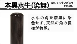 本黒水牛(染無)