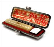 牛角(淡柄)本トカゲケース 12.0mm丸