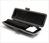 本黒水牛(芯持)クロムサインケース 13.5mm丸