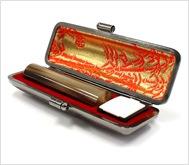牛角(濃柄)本トカゲケース 13.5mm丸
