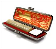 牛角(淡柄)本トカゲケース 13.5mm丸