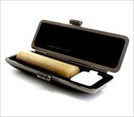 牛角(純白)クロムサインケース 13.5mm丸