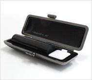 本黒水牛(芯持)クロムサインケース 15.0mm丸