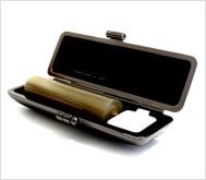 牛角(淡柄)クロムサインケース 15.0mm丸