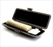 牛角(純白)クロムサインケース 15.0mm丸