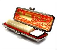 牛角(純白)本トカゲケース 15.0mm丸