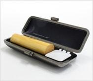 薩摩本柘 クロムサインケース 16.5mm丸