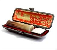 牛角(中柄)本トカゲケース 16.5mm丸