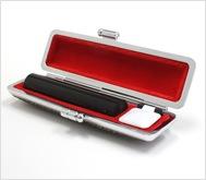 本黒水牛(芯持)カラーモミケース 12.0mm丸