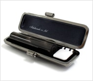 本黒水牛(染無)クロムサインケース 12.0mm丸