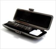 本黒水牛(染無)クロムサインケース 13.5mm丸