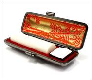 象牙(上)本トカゲケース 15.0mm丸