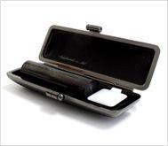 本黒水牛(染無)クロムサインケース 15.0mm丸