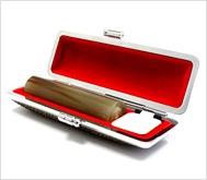 牛角(中柄)カラーモミケース 15.0mm丸
