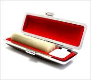 牛角(純白)カラーモミケース 15.0mm丸