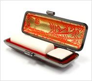 象牙(極上)本トカゲケース 16.5mm丸