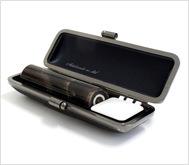 本黒水牛(染無)クロムサインケース 16.5mm丸