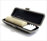 牛角(純白)クロムサインケース 16.5mm丸