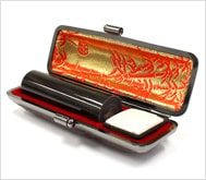 本黒水牛(染無)本トカゲケース 18.0mm丸