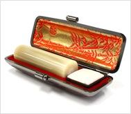 牛角(純白)本トカゲケース 18.0mm丸
