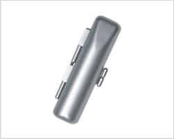 メタリックケース シルバー10.5mm〜12mm丸