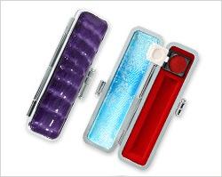 レインボーシャイングクロコケース紫色10.5mm〜12mm丸