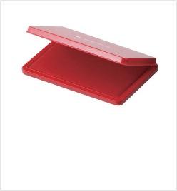 特大形シヤチハタ速乾スタンプ台 赤色