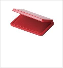 大形シヤチハタ速乾スタンプ台 赤色
