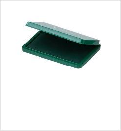 大形シヤチハタ速乾スタンプ台 緑色