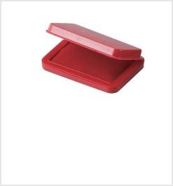 小形シヤチハタ速乾スタンプ台 赤色