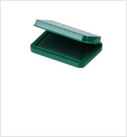 小形シヤチハタ速乾スタンプ台 緑色