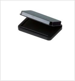 小形シヤチハタ速乾スタンプ台 黒色
